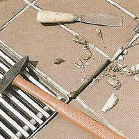 Klinker befestigen und mit Mörtel ausfugen