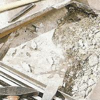 Auch letzte noch haftende Mörtelreste völlig entfernen