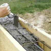 Betonieren, Stahlbeton, Betonmatten, Fundamente