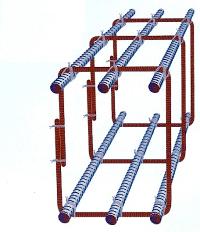 fundamentbalken auf punktfundament auflegen
