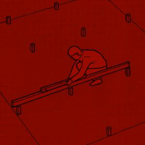 Betonplatten und Betonflächen
