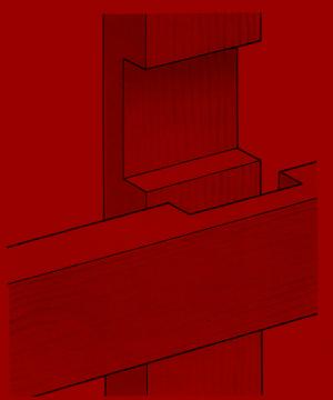 Leisten überplatten