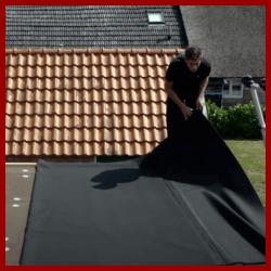 EPDM Folie für ein optimal abgedichtetes Flachdach