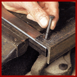 Einfache Metallverbindungen sind ohne großen Aufwand wieder lösbar