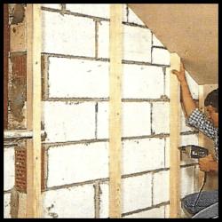 Fassadendämmung an der Innenseite anbringen