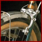 Felgenbremsen am Fahrrad müssen gut gewartet werden