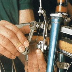 Felgenbremsen am Fahrrad