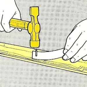 Feste Verbindungen Durch Nägel Genagelte Verbindungen