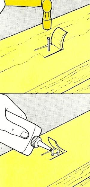 Feste Verbindungen durch Nägel, genagelte Verbindungen