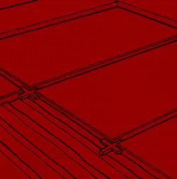 Fliesen Randstücke verlegen, zuschneiden und Bodenfläche verfugen