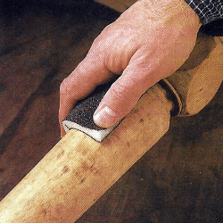 Holz fachgerecht schleifen