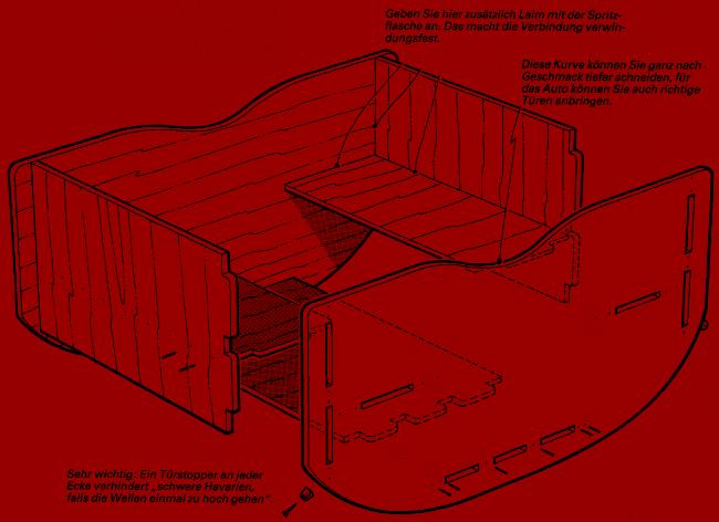 Kinder Sitzbank aus Holz, Bauplan, einfache Konstruktion