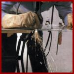 Mit Plasma schneiden, besonders für komplizierte Schnitte in Stahl