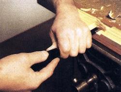 Mit dem Stechbeitel arbeiten, hilfreiche Tipps und Tricks