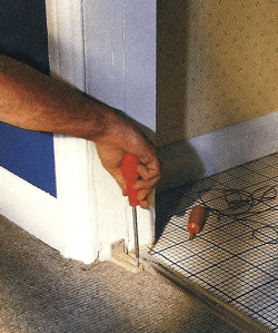 Platzgewinn durch Schiebetüren, Falttüren oder Harmonikatüren