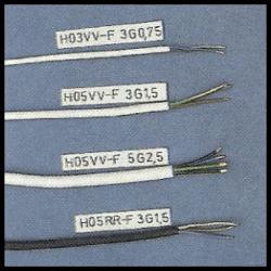 Stromleitungen, Aderleitung, Leitermaterial
