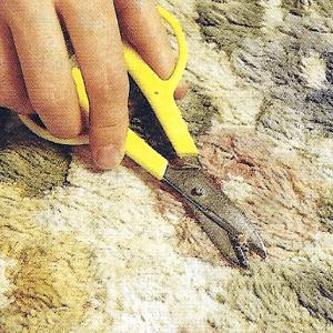 Teppichboden ausbessern reparieren und reinigen