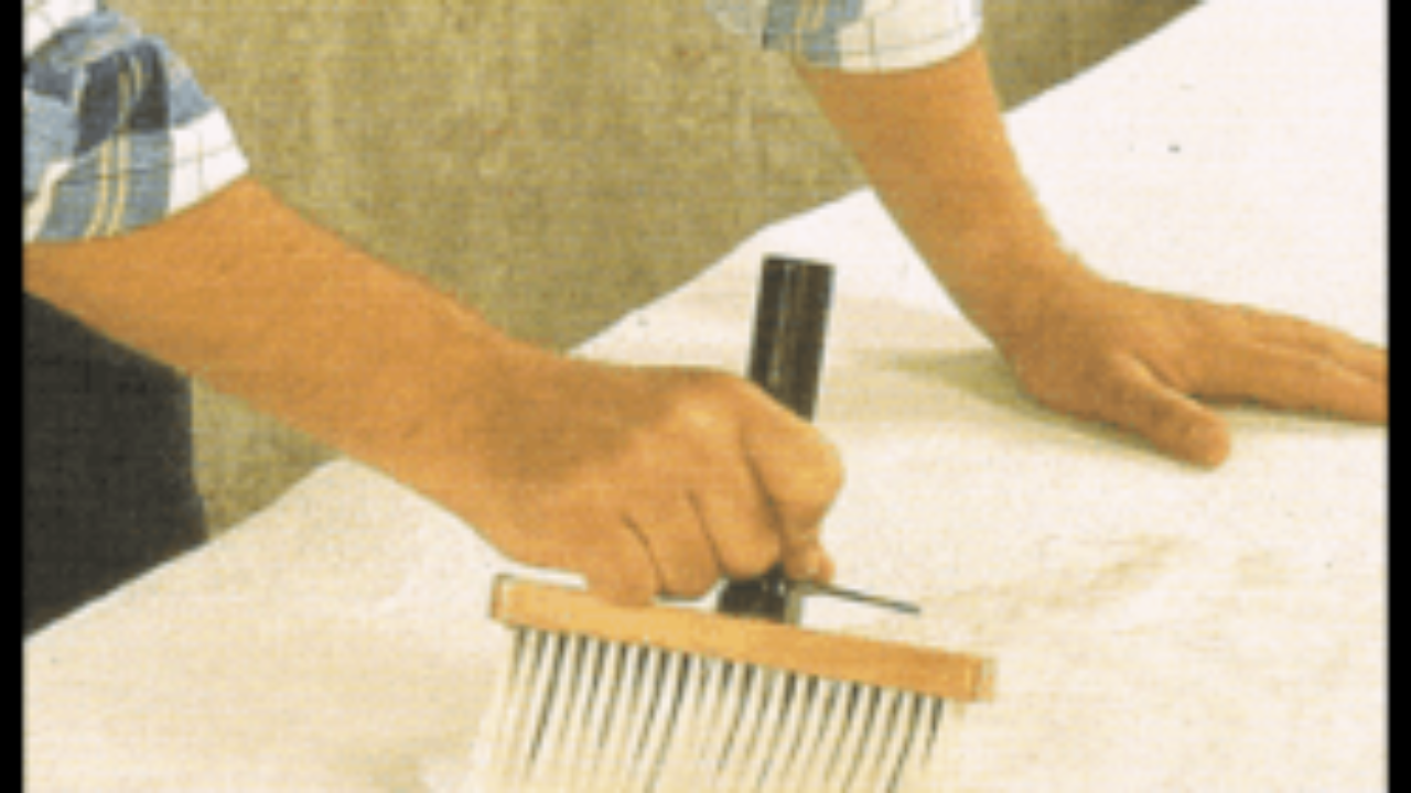 Bevorzugt Raufasertapete anbringen (tapezieren) und verarbeiten SB47