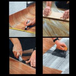 Kunststoffboden, Ein attraktiver und praktischer Bodenbelag