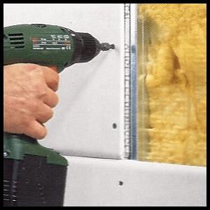 Unterkonstruktion für Gipskartonplatten