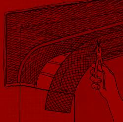 5. Da der Laibungsteil eines Bogens höchstens 16 cm breit ist, muss eventuell ein Zwischenstück eingesetzt und fixiert werden.