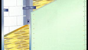Vorsatzschale für Gipskartonplatten