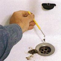 Einen Abfluss reinigen, Saugglocke einsetzen