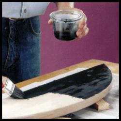 Beizen bringen schöne Farbtöne auf das Holz