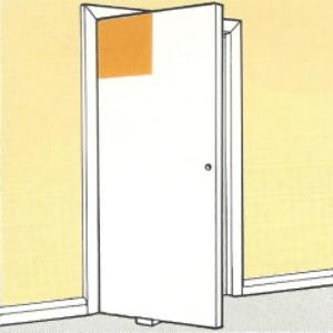Türblätter lackieren in der richtigen Reihenfolge