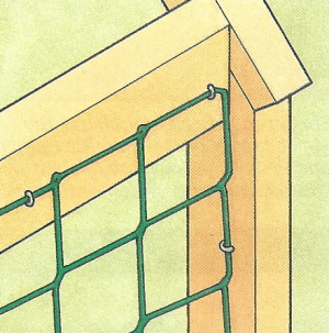 Bauplan Laubengang