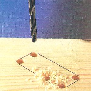 Zerlegbarer Terrassentisch selbstgebaut
