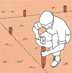 Betonarbeiten Schnurgerüste und Schalungen