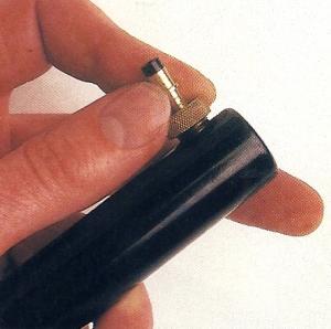 Erste Hilfe für platte Fahrrad Reifen