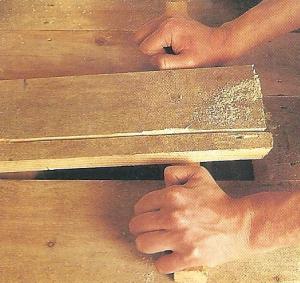 Holzböden ausbessern