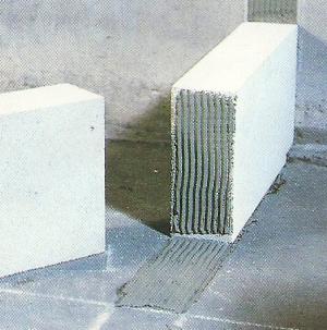 Gas Beton Wände, Leichte Wände zum Selberbauen