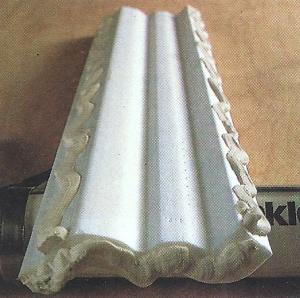 Stuckprofile für die Decke