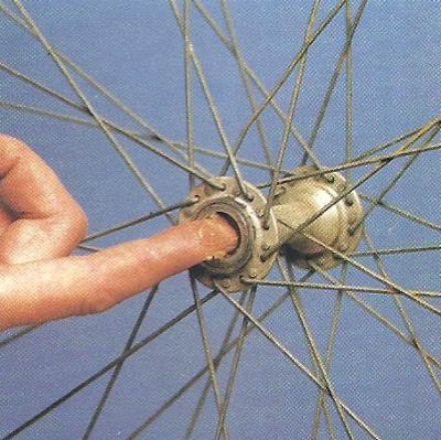 Kugellager einstellen am Fahrrad