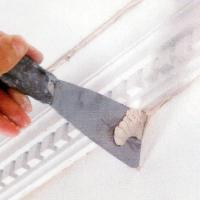 Zierprofile aus Hartschaum lassen sich problemlos verarbeiten