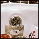 Emailschaden auf Sanitärobjekten ausbessern