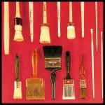 Farbroller und Pinsel, Werkzeuge und Qualität