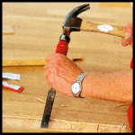 Fertigparkett reparieren, fachgerechte Reparatur