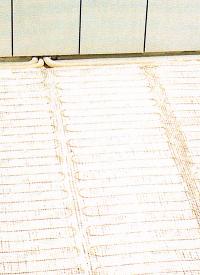 Thermoboden unter Fliesen verlegen (Fußbodenheizung)