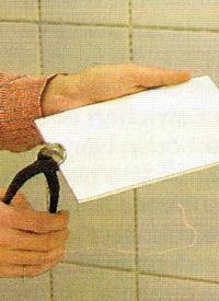Werkzeuge zum Fliesen, die wichtigsten Werkzeuge