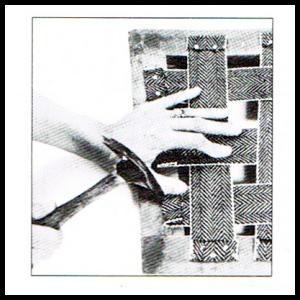 Erneuern der Gurtbänder am Sessel, Gurtbespannung