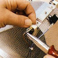 Halogenröhrenfassung instand setzen, reparieren