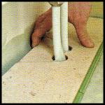 Heizungsrohr - Problem, eine elegante Lösung für Heizungsrohre