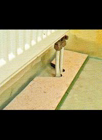 Heizungsrohr - Problem, eine elegante Lösung