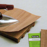 Holzfurnier Ausbessern, wenn das Furnier beschädigt ist