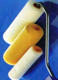 Werkzeug zum Lackieren, Pinsel und Lackwalzen