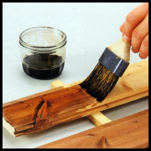 Lasuren lassen die Struktur des Holzes sichtbar